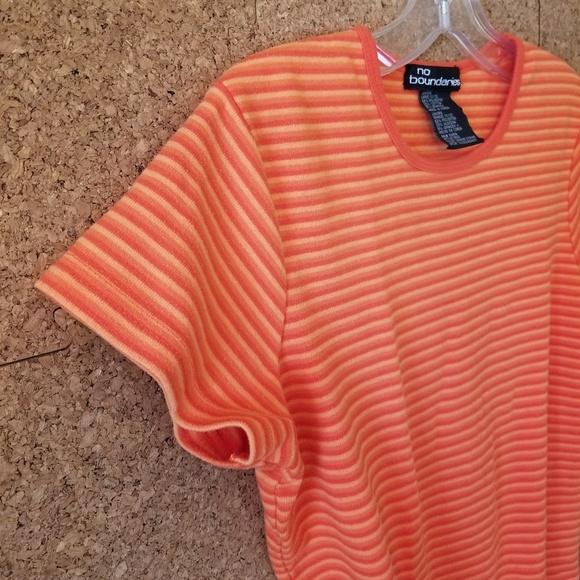 No Boundaries Tops - No Boundaries ☕ 3/$15 ☕ Striped T-Shirt